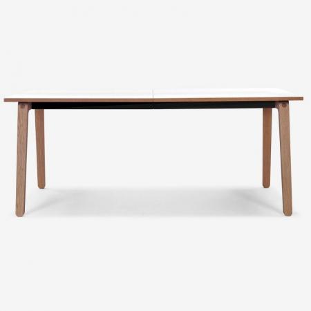 Prostokątny stół z drewna Filur Bolia