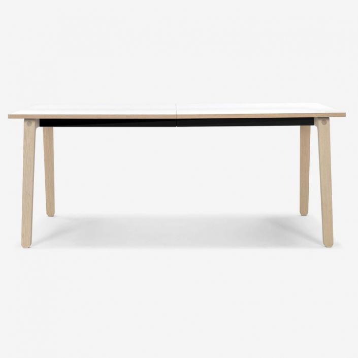 Prostokątny stół z drewna Filur 6 Bolia