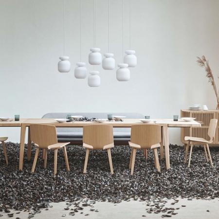 Prostokątny stół z drewna Graceful 1 Bolia