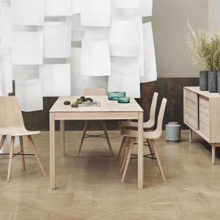 Prostokątny stół z drewna Node 1 Bolia