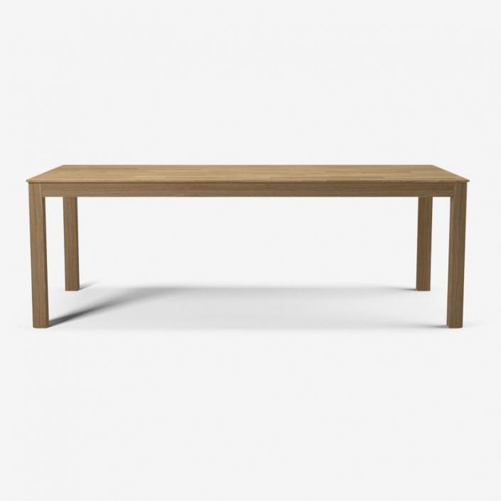 Prostokątny stół z drewna Node Bolia