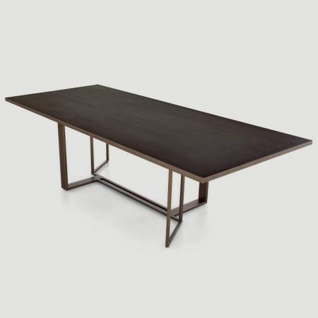 Prostokątny stół z porcelanowym blatem Boston Shake Design