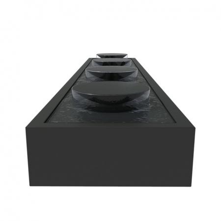 Prostokątny staw wodny z misami zewnętrzny aluminium 1.jpg