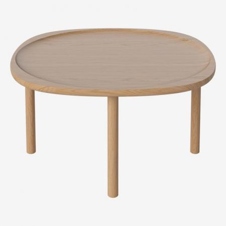 Skandynawski stolik kawowy z drewna Trace Bolia