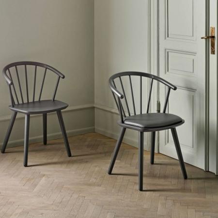 Skandynawskie krzesło Sleek 1 Bolia