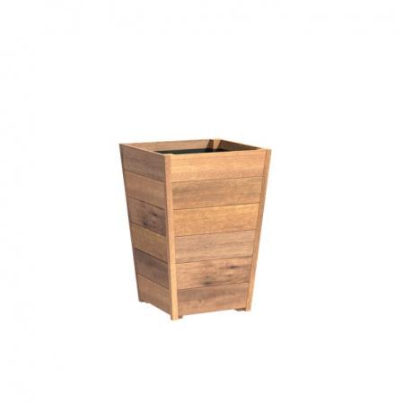 Stożkowa donica drewniana zewnętrzna Sevilla 1.jpg