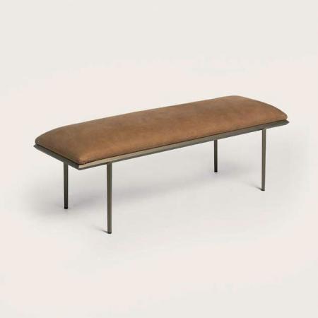 Tapicerowana ławka bez oparcia Prism.jpg