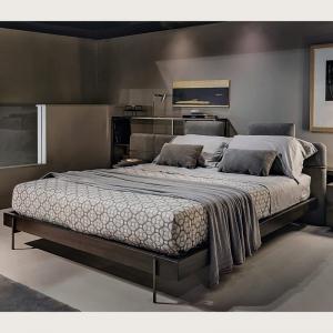 Tapicerowane łóżko w nowoczesnym stylu Mesh.jpg