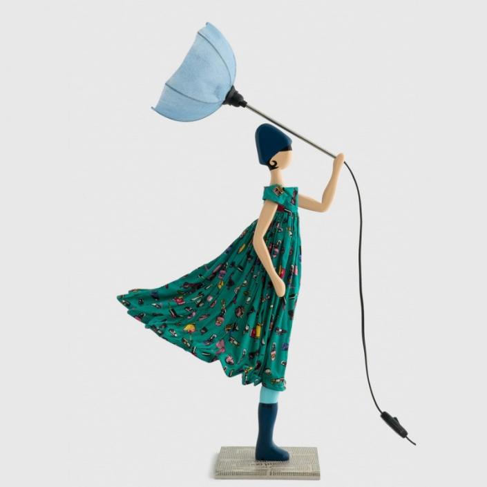 Wesoła lampka dziewczynka w sukience MAKENZIE
