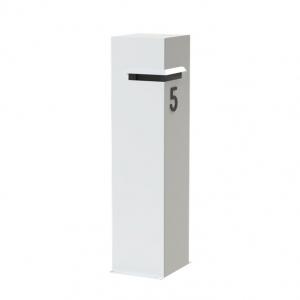 Wolnostojąca skrzynka na listy Ivar aluminium.jpg