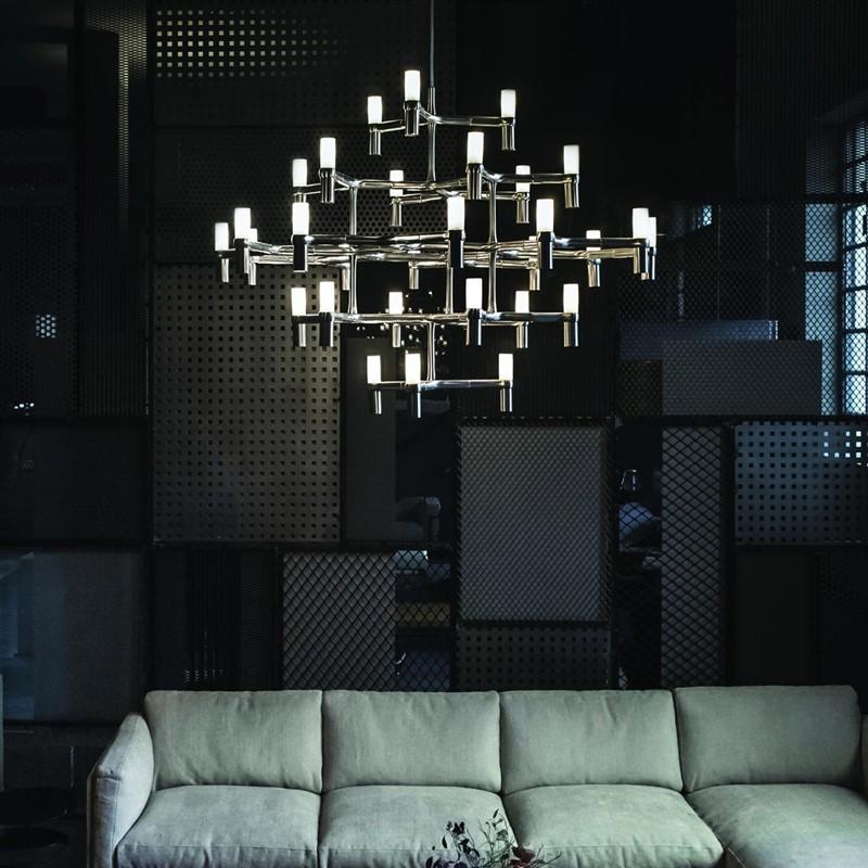 Designerskie lampy wiszące CROWN MAJOR