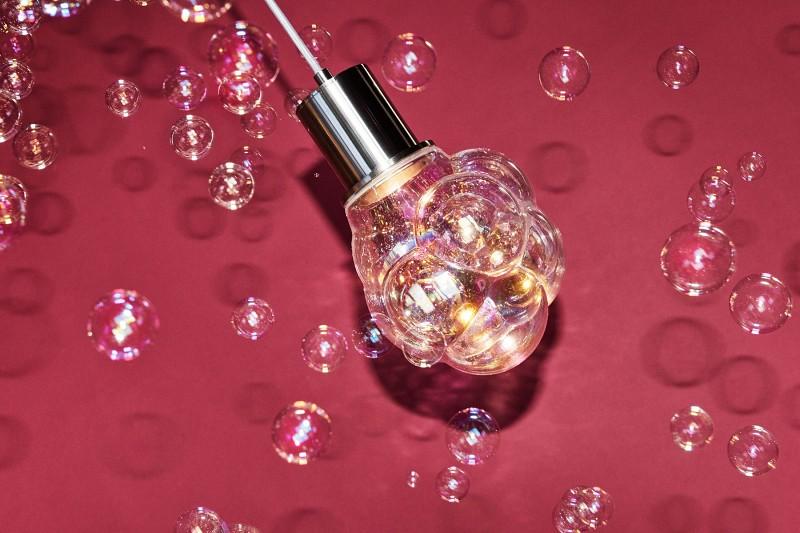 Designerskie lampy wiszące Glasblase