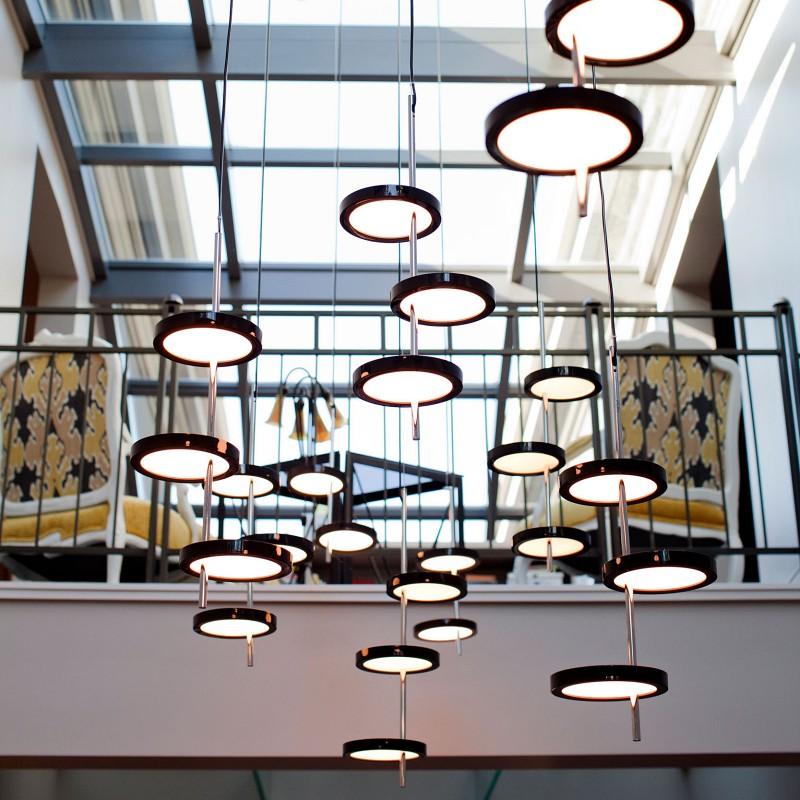 Designerskie lampy wiszące Nenufar Marset