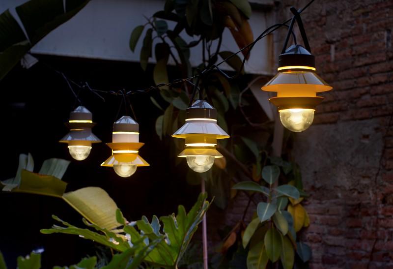 Designerskie lampy wiszące Santorini Marset