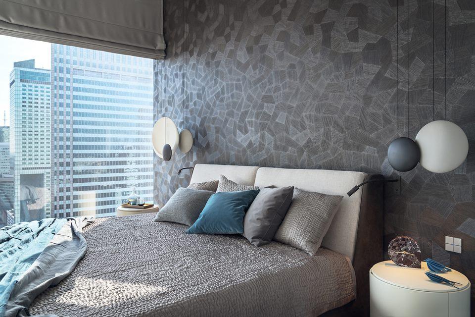 Eleganckie wnętrza według Katarzyny Kraszewskiej Aranżacja sypialni
