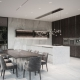 Eleganckie wnętrza według Katarzyny Kraszewskiej kuchniaz wyspą
