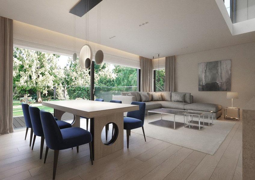 Eleganckie wnętrza według Katarzyny Kraszewskiej pokój dzienny