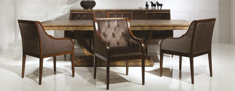 Krzesła ozdobne Winston