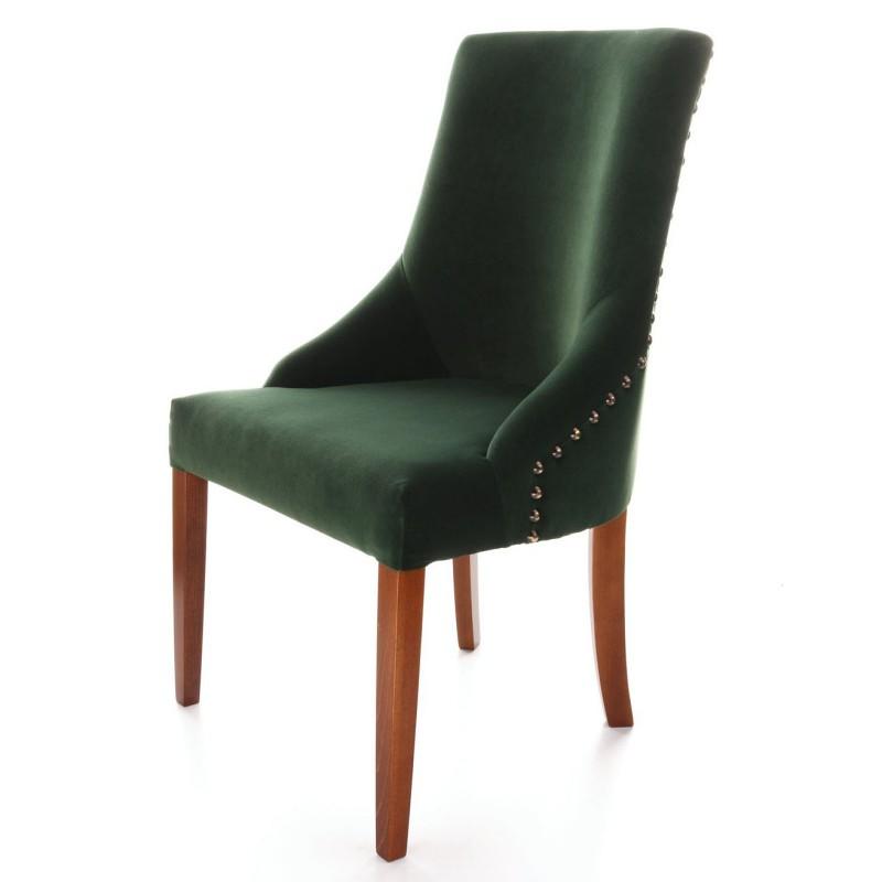 Krzesła ozdobne z wysokim