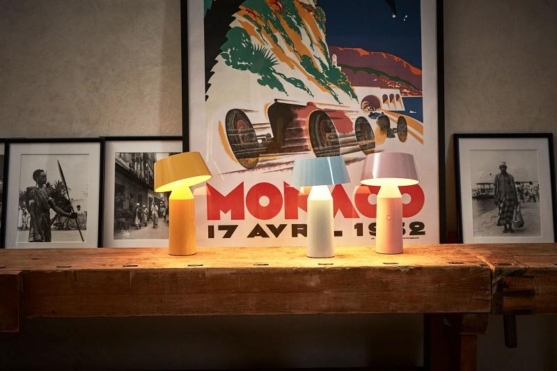 Stołowe lampy bezprzewodowe Bicoca Marset