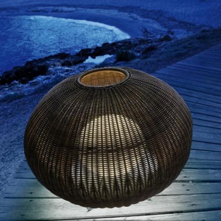 Lampa podłogowa zewnętrzna