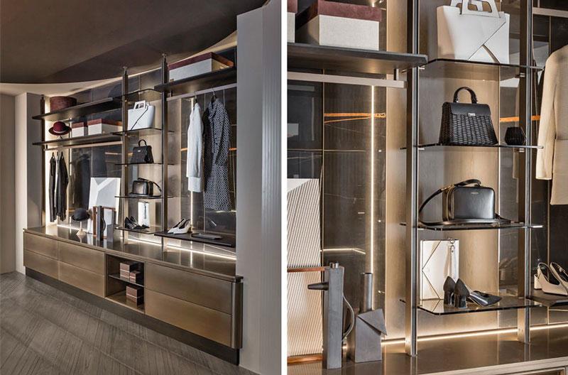 Garderoba w nowoczesnym stylu Infinity