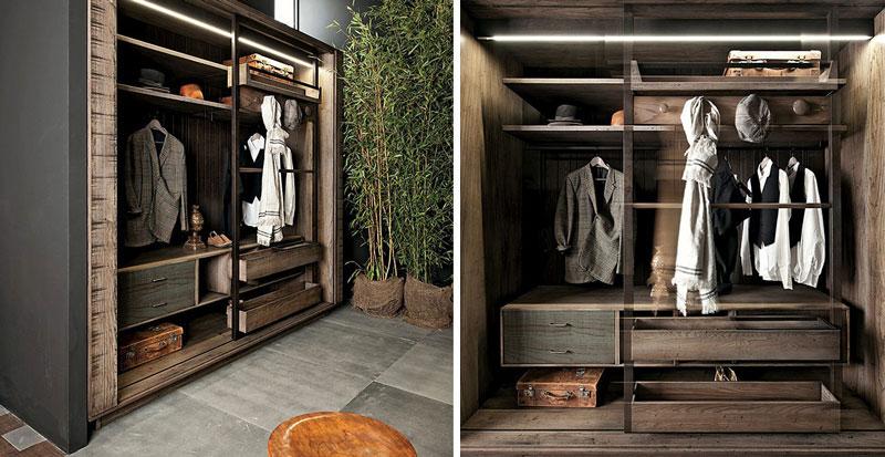 Garderoba w nowoczesnym stylu Lee