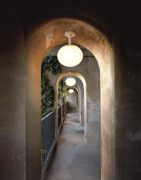 Zewnętrzna lampa sufitowa Elipse PF Bover