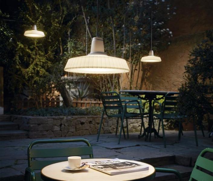 Zewnętrzna lampa wisząca Marietta S32 Outdoor Bover