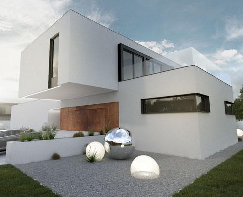 BIAMS Architekt Łódź projektowanie nowoczensych domów