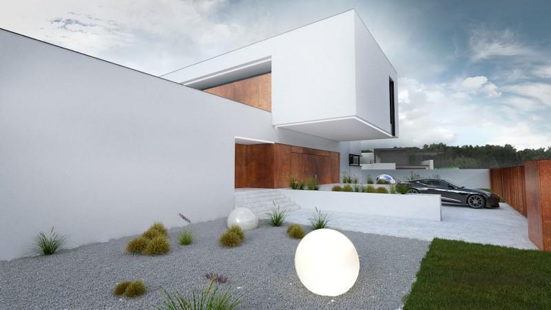 Dom jednorodzinny w minimalistycznym stylu