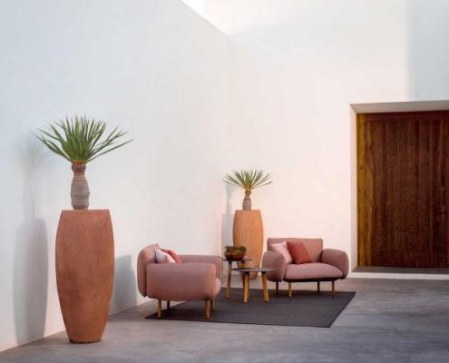 Fotele ogrodowe Senja Tribu