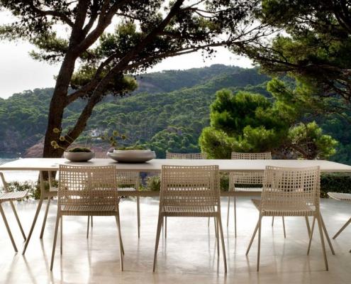 Krzesła ogrodowe Branch Tribu
