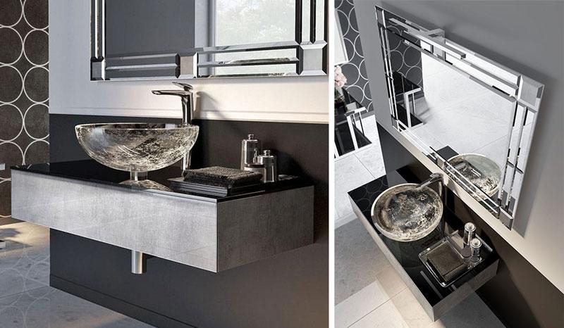Umywalki w nowoczesnym stylu misy ZTOP108SE