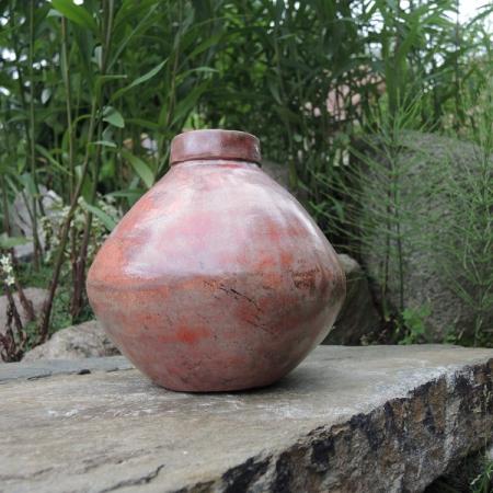 Ceramiczna waza Wabi-sabi