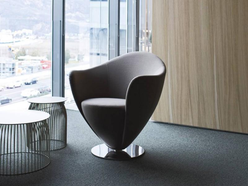 Fotel Mon Petit Coeur La Cividina - Nowoczesne siedziska do biura