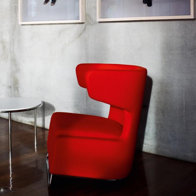 Fotel Mrs Buffy La Cividina - Nowoczesne siedziska do biura