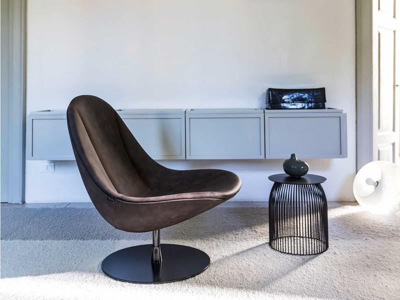 Fotel obrotowy Dolce Vita La Cividina - Nowoczesne siedziska do biura