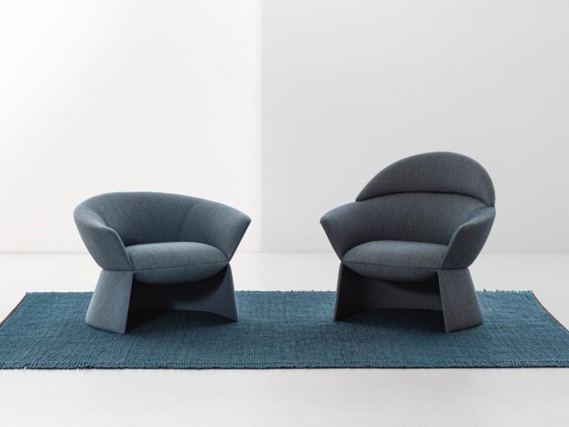 Fotele Swale La Cividina - Nowoczesne siedziska do biura