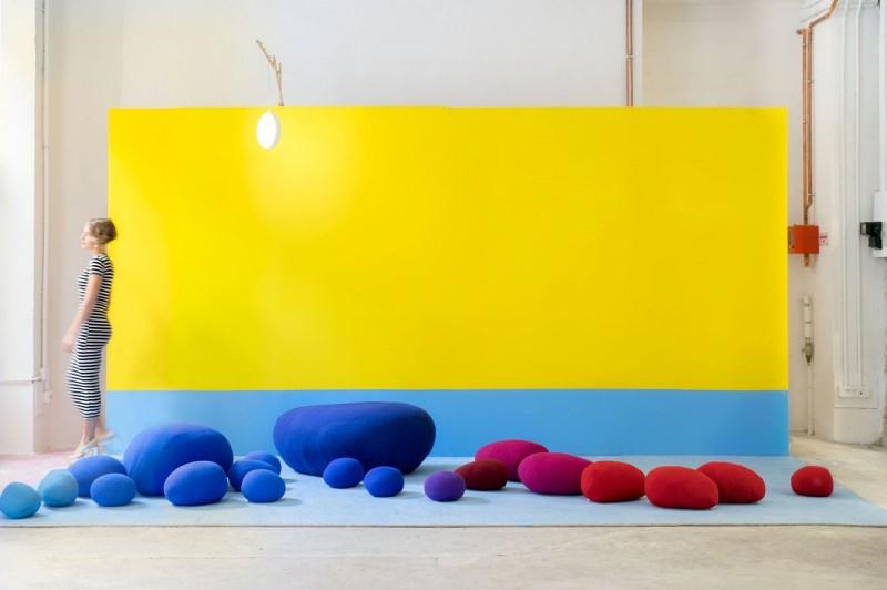 Siedziska Colorful Landscape Smarin - Nowoczesne siedziska do biura