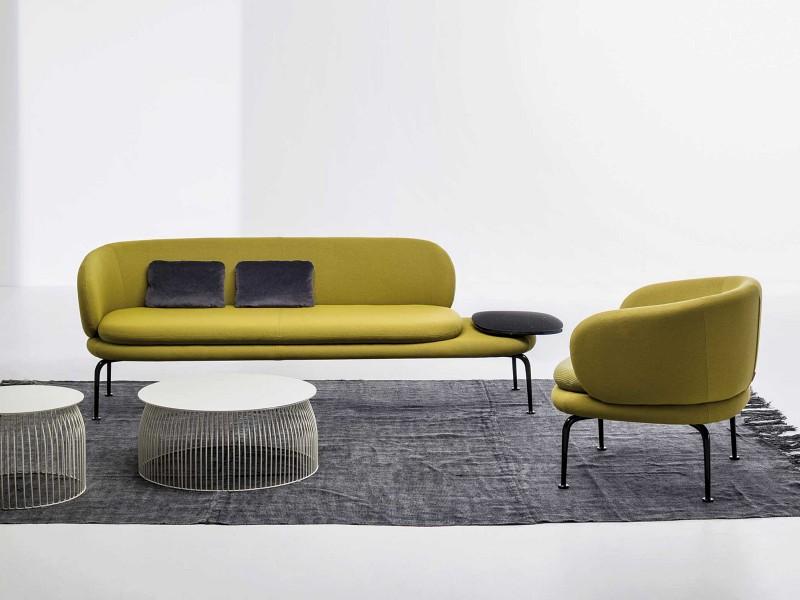Sofy fotele Soave La Cividina - Nowoczesne siedziska do biura