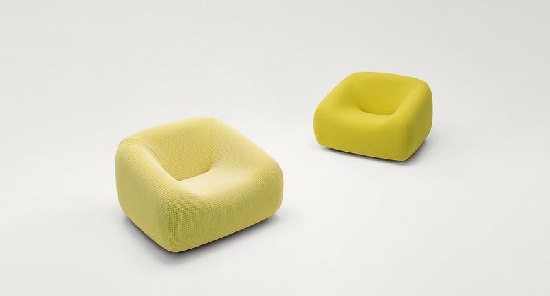 Fotele Smile Paola Lenti - Nowoczesne poczekalnie