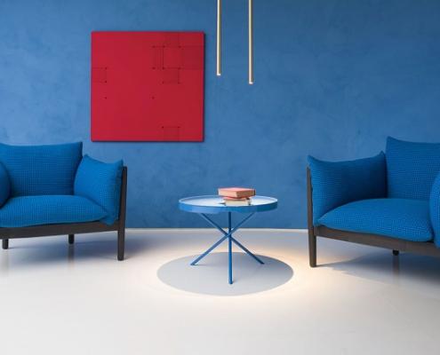 Fotele Tapio Paola Lenti - Nowoczesne poczekalnie