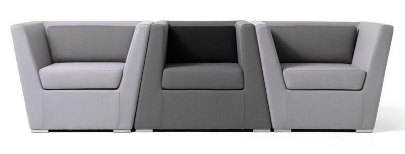 Fotele double Diemme - Nowoczesne poczekalnie