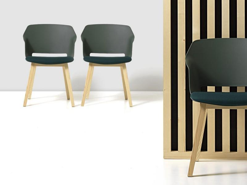 Krzesła Clop Diemme - Nowoczesne poczekalnie