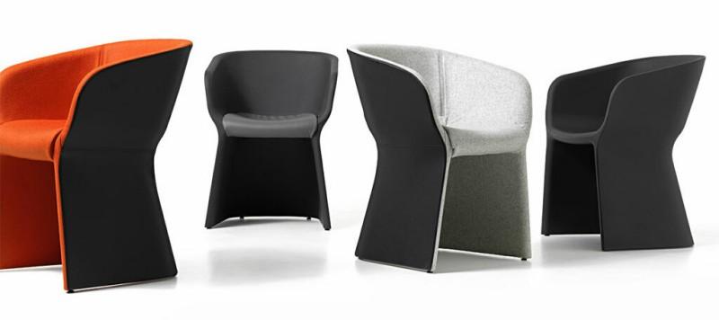 Krzesła Margarita Diemme - Nowoczesne poczekalnie