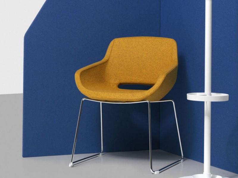 Krzesło Clea Plus Diemme - Nowoczesne poczekalnie