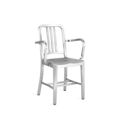 Navy Chair z podłokietnikami Emeco