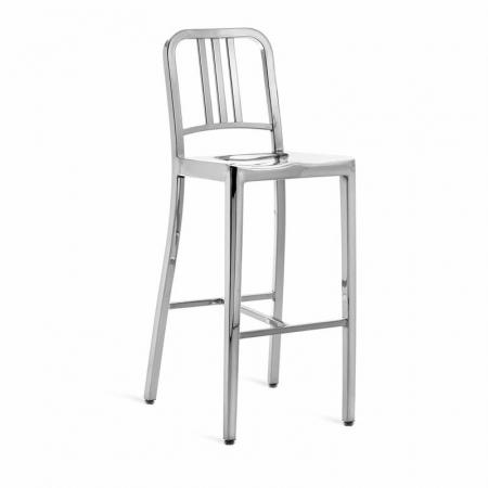 Navy barstool krzesło barowe Emeco