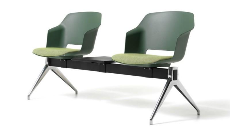 System krzeseł Clop Diemme - Nowoczesne poczekalnie